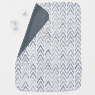Cobertura doce da viga da aguarela em matiz mantas para bebe
