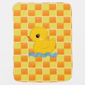 Cobertura Ducky do carrinho de criança de bebê Cobertores Para Bebe