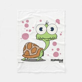 Cobertura feita sob encomenda do velo da tartaruga cobertor de lã