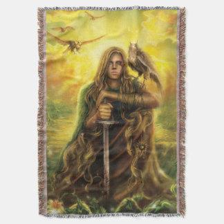 Cobertura mágica do lance do guerreiro coberta
