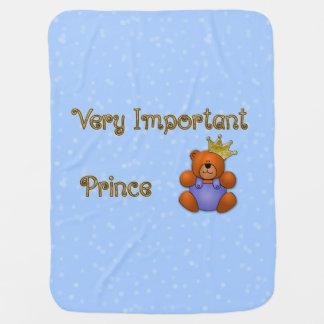 Cobertura muito importante do bebê do príncipe cobertor para bebe