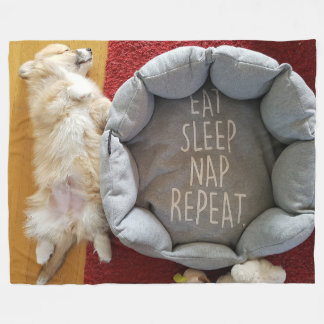 Cobertura Napping do velo do filhote de cachorro Cobertor De Lã