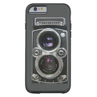 Cobrir antigo da caixa da câmera do vintage capa para iPhone 6 tough