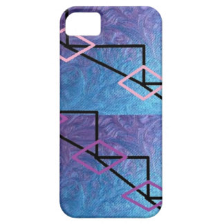 cobrir azul/roxo do iphone capa barely there para iPhone 5