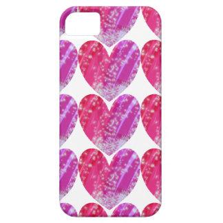Cobrir bonito do telemóvel do coração capa barely there para iPhone 5