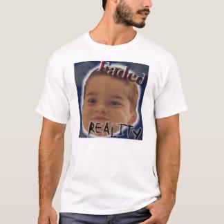 Cobrir CD desvanecido da realidade Camiseta