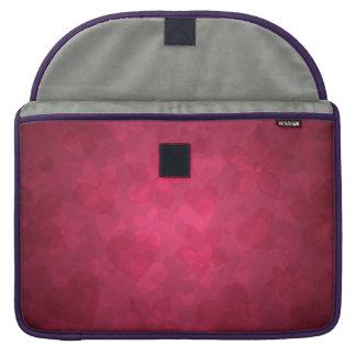 cobrir cor-de-rosa agradável bolsas para MacBook pro