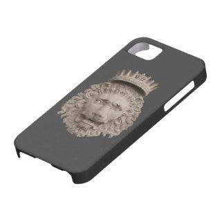 Cobrir coroado do leão iPhone5 Capa Para iPhone 5