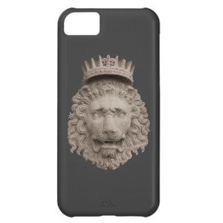 Cobrir coroado do leão iPhone5 Capa Para iPhone 5C