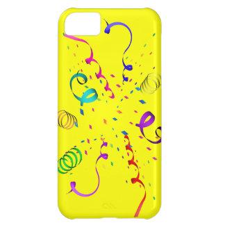 Cobrir da explosão iPhone5 dos confetes Capa Para iPhone 5C