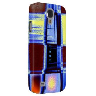 Cobrir da galáxia s4 de Samsung da cor completa