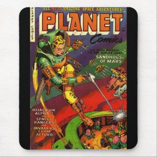 Cobrir de banda desenhada do vintage de Mousepad