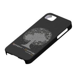 Cobrir de Iphone 4 de Torrente-Dano Capa Para iPhone 5