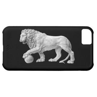 Cobrir de mármore do iPhone 5 do leão Capa Para iPhone 5C