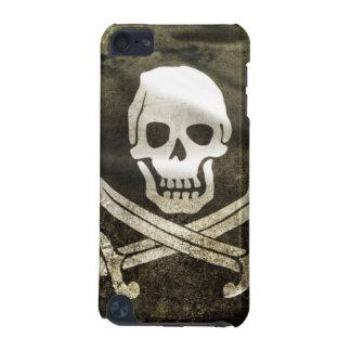 Cobrir do Grunge do pirata Capa Para iPod Touch 5G
