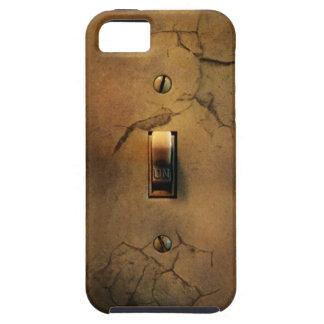 Cobrir do iPhone 5 do interruptor do Grunge Capa Tough Para iPhone 5