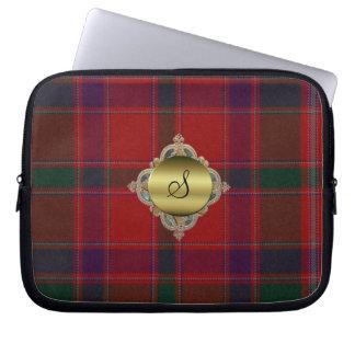 Cobrir do laptop da xadrez de Tartan de Stewart do Bolsas E Capas De Notebook