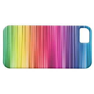 Cobrir do telefone do arco-íris capa para iPhone 5