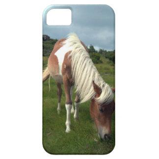 Cobrir do telefone do cavalo selvagem capa barely there para iPhone 5