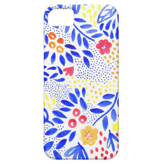 Cobrir floral corajoso do telefone do Belle Capa Barely There Para iPhone 5