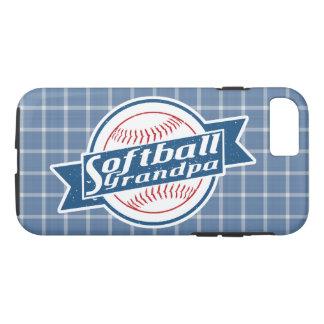 Cobrir móvel do vovô do softball capa iPhone 7