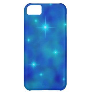 Cobrir nebuloso do iPhone 5C do campo de estrela Capa Para iPhone 5C