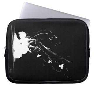 Cobrir pessoal da arte da ilustração capa de computador notebook