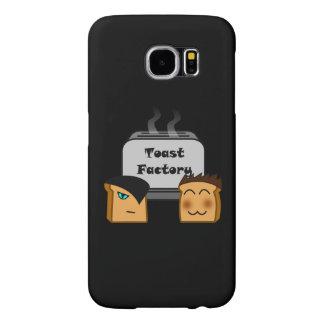 Cobrir pretos de Toastie Samsung dos anfitriões Capas Samsung Galaxy S6
