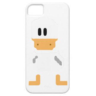 Cobrir retro bonito do telefone do pato capas para iPhone 5