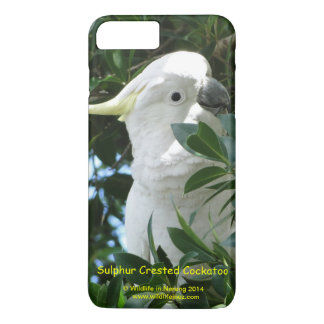 Cockatoo com crista do enxofre capa iPhone 8 plus/7 plus