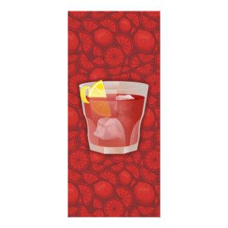 Cocktail de Americano 10.16 X 22.86cm Panfleto
