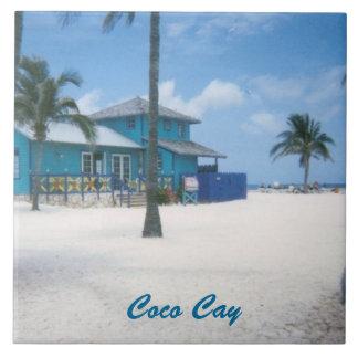 CocoCay Azulejo Quadrado Grande