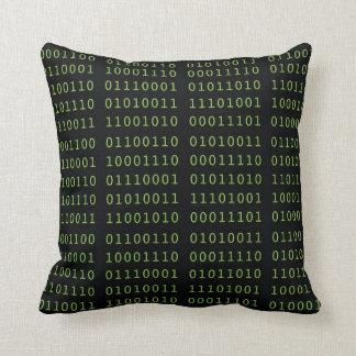 Código binário almofada