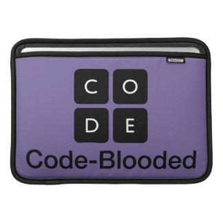 Código-Blooded Bolsa De MacBook
