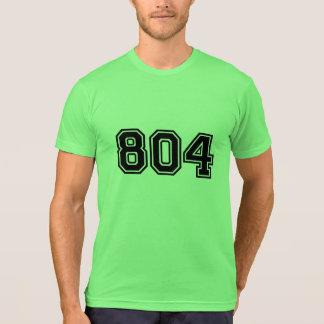 Código de área de RVA 804 Tshirts