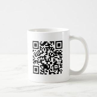 Código Rickrolled do rolo QR do rick Caneca De Café