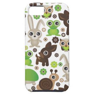 Coelho bonito dos cervos da tartaruga do sapo dos  capas de iPhone 5 Case-Mate