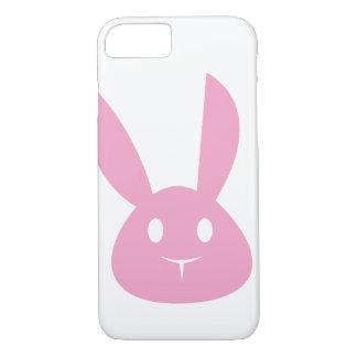 Coelho cor-de-rosa capa iPhone 8/7