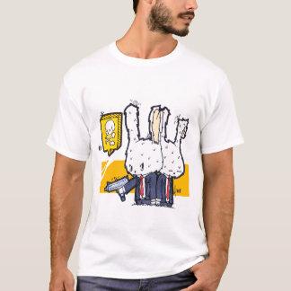 Coelhos do assassino camiseta