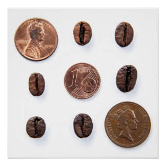 coffee and coins poster perfeito