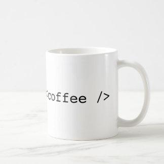 <coffee /> caneca de café