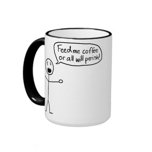 Coffee is the Reason Canecas