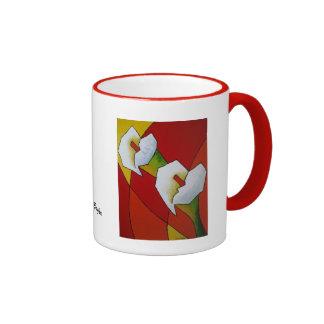 Coffee Mug Lily - Caneca Copo-de-Leite