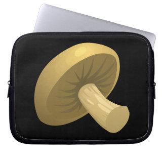 Cogumelo da comida do pulso aleatório sleeve para notebook