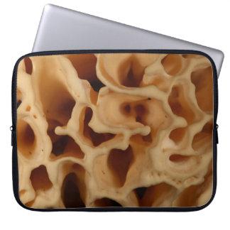 Cogumelo da couve-flor capa para laptop