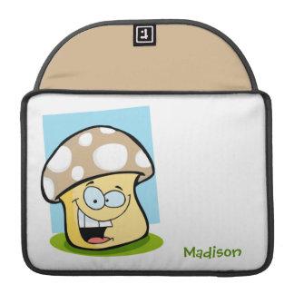 Cogumelo de Tan Brown Bolsa Para MacBook Pro