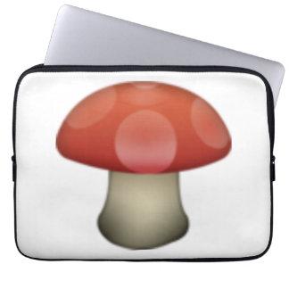 Cogumelo - Emoji Sleeve Para Laptop