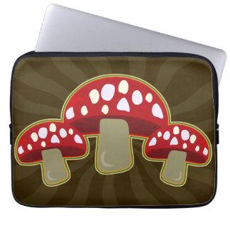 Cogumelos fabulosos dos fungos capa de notebook
