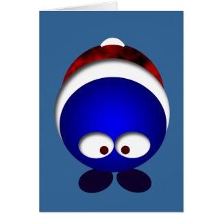 Coisa do feriado cartão comemorativo