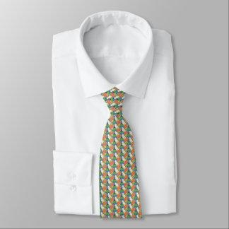 Colagem colorida dos gatos de silhuetas do gato gravata